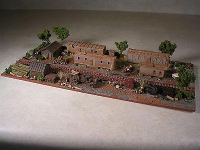 N Scale Custom Assembled Diorama Logging Camp Number 7, version #55 for sale  Westminster