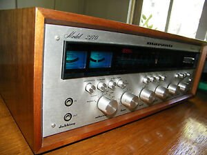 MARANTZ 2270 stereophonic receiver with wood case