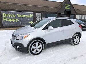 2015 Buick Encore Leather /HEATED SEATS/AWD/BLIND SPOT/CAMERA