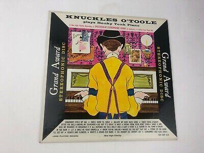 KNUCKLES O'TOOLE PLAYS HONKY TONK PIANO LP VINYL ORIGINAL VG+