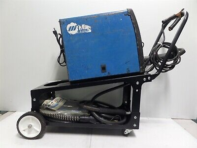 Miller Millermatic 135 115v Wire Welder W Cart - As Is