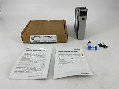 Allen Bradley 1756-l61 Ser B Controllogix 5561 Processor Controller Memory Board