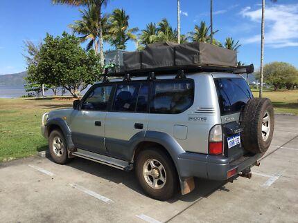 Toyota Landcruiser Prado GXL (4x4)   camping setup Cairns Cairns City Preview