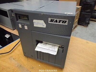 """SATO CL408E Parallel Thermo Label Drucker REWINDER 203dpi 4.1"""" 104mm - 22624.8 M"""