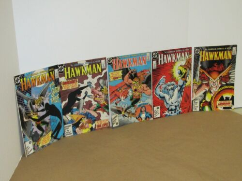 HAWKMAN (1986) 2 3 4 5 and 6
