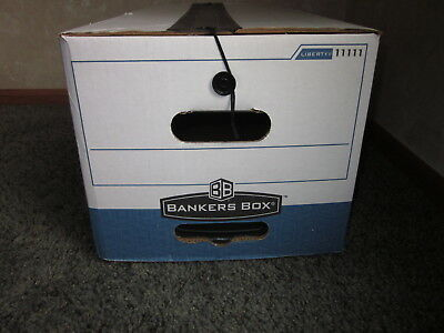 Bankers Box 11111 Liberty Plus Heavy-duty Storage Box Letter Size New Unused