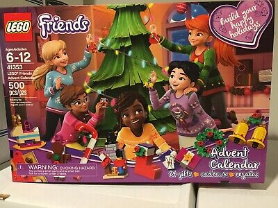 2018 LEGO Friends 41353 Advent Calendar Christmas Tree Ornaments 500 Pcs