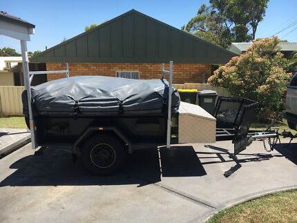 Camping Trailer Caves Beach Lake Macquarie Area Preview
