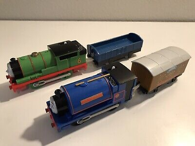 Thomas trackmaster Track And Train Lot Percy & Sir Handel