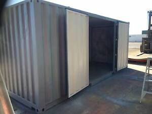 20ft Modified Shipping Container with side doors NSW Tempe Marrickville Area Preview