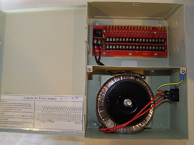 18 Channels 24V AC Regulated Distributed Power Supply