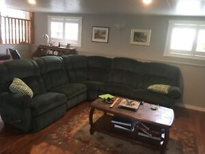 Lazy-Boy L sectional couch