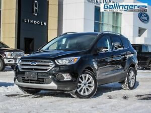2017 Ford Escape TITANIUM w/TWIN PANEL MOONROOF AND NAVIGATION