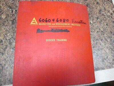 Allis Chalmers 6060 6080 Tractor Service Repair Shop Manual