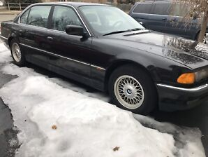 1999 BMW 740iL SELLING AS IS