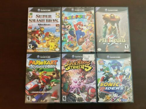 Nintendo Gamecube Games Lot *Tested* - Pick and Choose