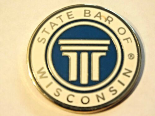 STATE BAR OF WISCONSIN ~ WISCONSIN ATTORNEY OR LAW STUDEN ASSOCIATE PIN