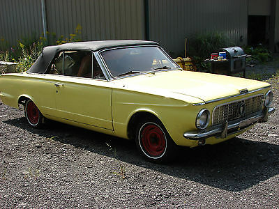 1963 valiant signet 200 convertible used plymouth other for sale in new york search. Black Bedroom Furniture Sets. Home Design Ideas
