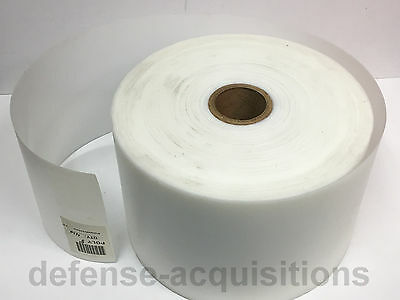 Hdpe High Density Polyethylene Plastic Sheet .030 X 9 X By The Foot Flexible