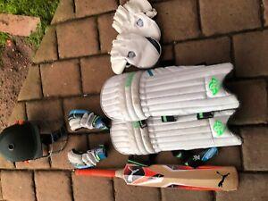 Junior cricket gear for sale