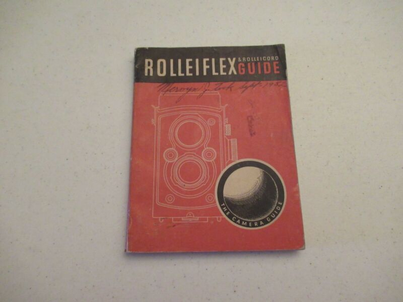 Rolleiflex & Rolleicord Guide - 1952 - used
