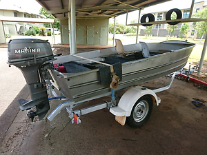 4.5m Tinny With 40hp motor Rosebery Palmerston Area Preview