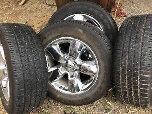 Dodge Ram 1500 Tires with Rims