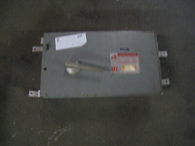 GENERAL ELECTRIC QMR QMR224 200 AMP 240V FUSED PANEL PANELBOARD SWITCH THPS224