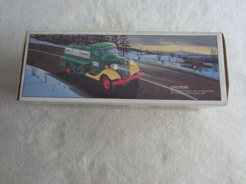 1985 First Hess Truck Toy Bank NIP