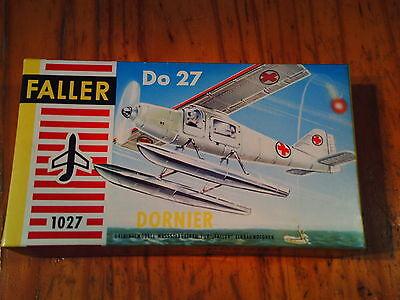 Faller 1:100 / HO   Dornier  Do-27   Mitte der 60er Jahre  Made in Austria