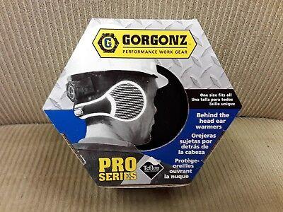 GORGONZ Ear Muff Behind Head Ear Warmers Black PRO SERIES Size Fits All  New ()
