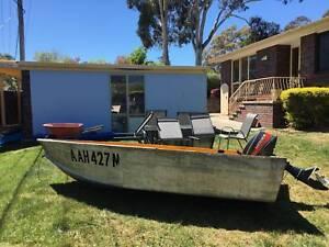 Fishing Boat and Motor