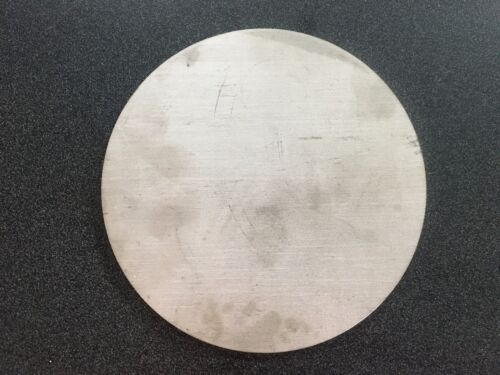 "1/4"" (.250) Stainless Steel Disc x 7.75"" Diameter, 304 SS"