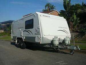 Jayco Outback Expanda 17.56-1 HI - WITH BUNKS!! Caves Beach Lake Macquarie Area Preview