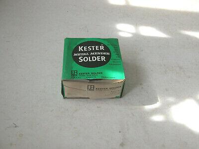 Vintage Kester Metal Mender Solder Acid Core Box Retail Display Unit