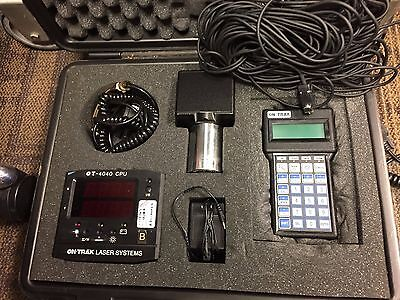 On-trak Ot-4040 Portable Two Dimensional Alignment System - Used G387