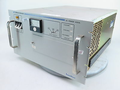 California Instruments 4503l Programmable Ac Power Supply 4503l-ip-4221
