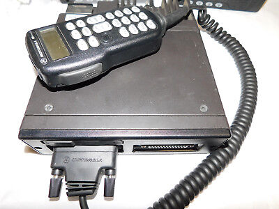 Motorola Astro spectra 800mhz P25 enabled Digital Mobile radio W3 HHCH XTL5000