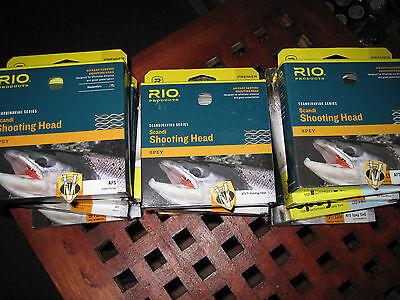 Scandinavian Shooting Head (Rio Scandinavian Spey Series AFS Shooting Head Salmon Fly)