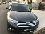 Toyota Kluger KXS 2013......7 seater 4WD Fairfield Heights Fairfield Area Preview
