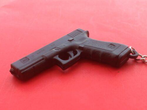 GLOCK KeyChain /  KeyRing Model 17 Gen 3 Black Plastic Collector Promotion
