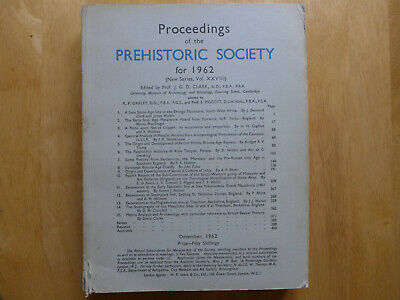 Proceedings Of The Prehistoric Society 1962