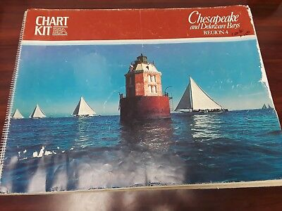 Maptech Chart Kit Chesapeake and Delaware Bays Region 4 4th Edition  ()