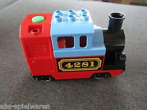 LEGO DUPLO  EISENBAHN DAMPFLOK LOKOMOTIVE elektrische Lok Zug  10507 10508 - NEU