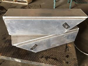 2 X aluminium toolbox Woree Cairns City Preview