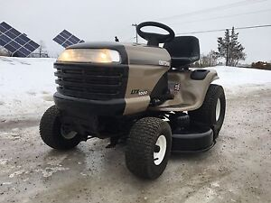 "Craftsman 42"" lawn tractor!  We take trade ins!"