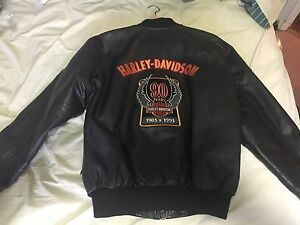 90yrs anniversary Harley Davidson leather jacket