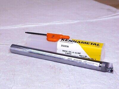 Kennametal Indexible Steel Boring Bar 0.54 Min Bore Dia 12 Shank 6l 5128784