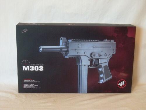 AIRSOFT-M303 DOUBLE EAGLE(TM) PELLET GUN BY BULLSEYE(R) W/STARTER PELLETS *NEW*