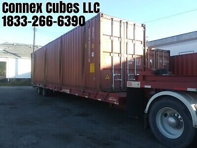 Used 40 High Cube Shipping Container Dallas Texas